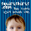 Squirtshirts.com - The world's BEST pop culture Baby Clothes!
